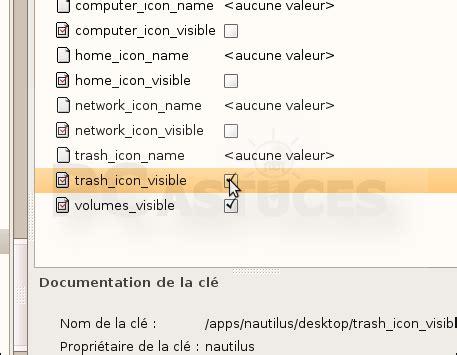 plus de corbeille sur le bureau ajouter l 39 icône de la corbeille sur le bureau linux