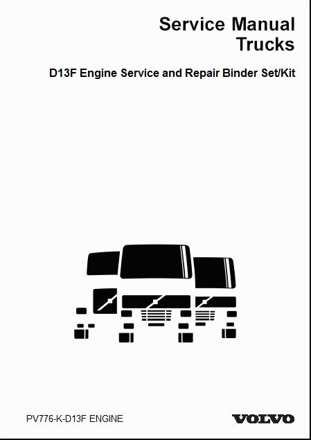 Volvo 9700 Wiring Diagram by Volvo Truck D11f Engine Service And Repair Manual 2