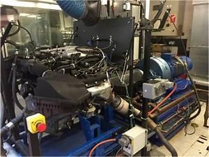 Engine Test Bench  Jaguar V6