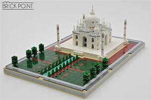 A Perfect Reflection  The Taj Mahal In Microscale