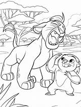 Lion Guard Coloring Pages Drawing sketch template