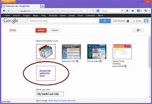 intelligantt google site template for intellitask and With google sites template gallery