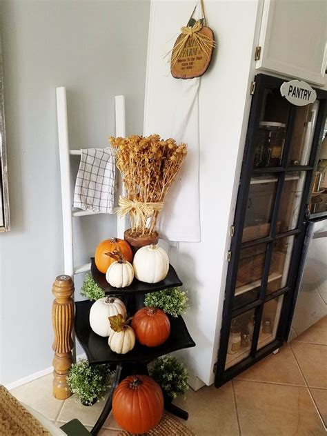 quaint sanctuary cozy cottage style fall kitchen nook