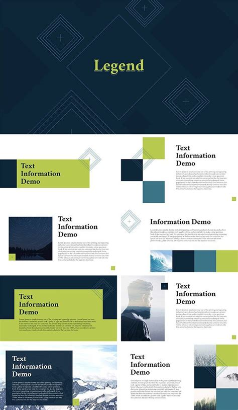 professional  templates  projects