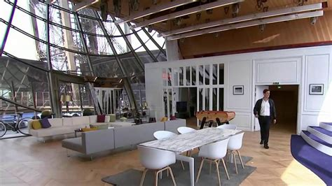 Luxury Apartment In Overlooking The Eiffel Tower by Visit The Luxury Apartment Inside The Eiffel Tower