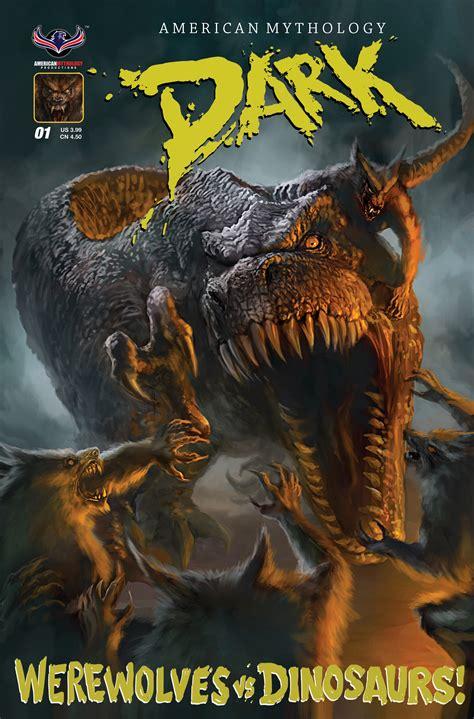 dark werewolves  dinosaurs  main cvr