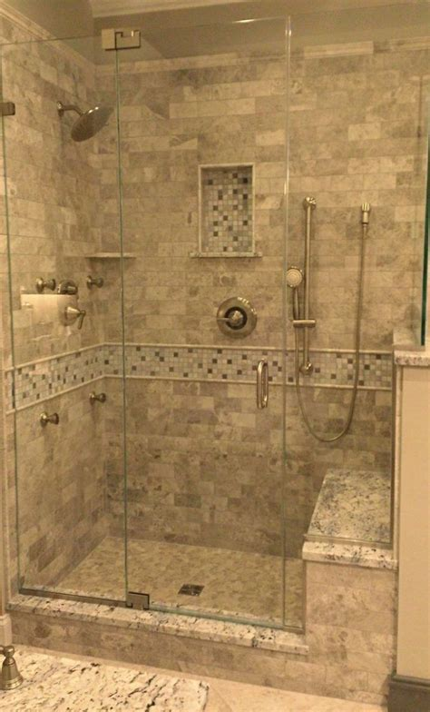 In Shower by Tile Showers With Bench 85 Photos Designs On Tile Ready