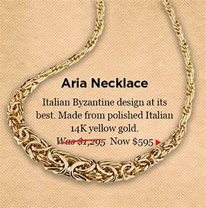 Italian-made Raffinato Jewelry