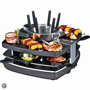 Raclette Fondue Set : gast raclette fondue set 42559 1400w bk ~ Michelbontemps.com Haus und Dekorationen