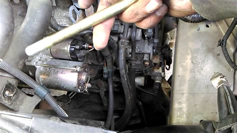 how to replace your car starter motor 2005 to 2010 honda