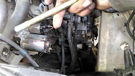 replace  car starter motor    honda