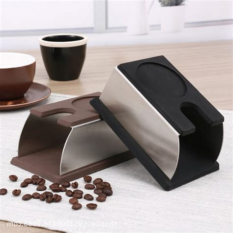 A diy coffee bar in your home can help you entertain family, friends, loved ones. New Stainless Steel Coffee Tamper Holder DIY Silicon Coffee Tamping Holder Support Base Rack ...