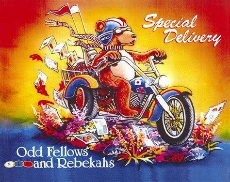 Oddfellows-Rebekahs Rose Float History