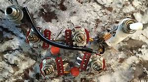Original Complete 1968 Vintage Gibson Sg Wiring Harness