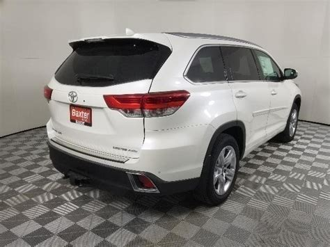 toyota highlander limited sport utility  lincoln  baxter toyota lincoln