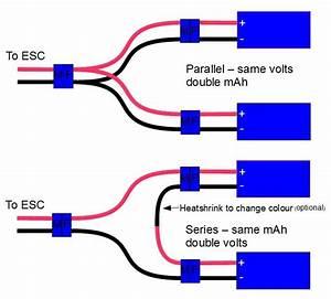 Wining Diagram For Lipo U0026 39 S In Series  U0026 Parallel