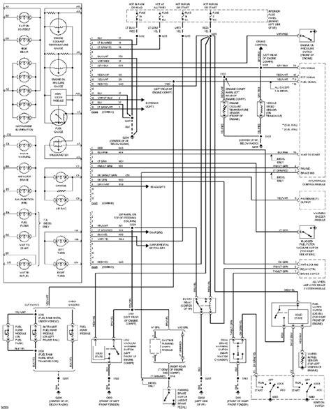 instrument cluster system schematic  ford econoline