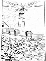 Leuchtturm Lighthouse Coloring Malvorlagen Colorear Printable Adult Drawing Patterns Printables Mandala Below Skizze Burning Wood Malen Ausdrucken Kunst Unten Sammlung sketch template