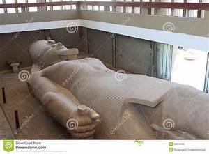 Statue Of Ramses II Found At Memphis Royalty-Free Stock ...