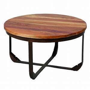 Table Basse En Bois Et Mtal TONS Univers Salon