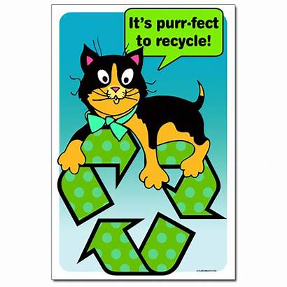 Recycling Recycle Poster Posters Awareness Schools Ai