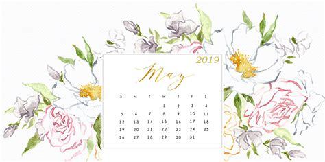 Free May 2019 Hd Calendar Wallpaper