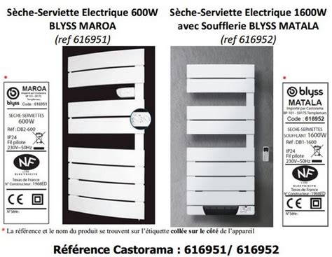 Seche Serviette Electrique Blyss