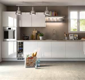 cuisine am 233 nag 233 e blanc brillant design et 224 la qualit 233 irr 233 prochable