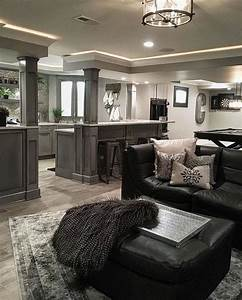 40, Beautiful, Basement, Remodel, Ideas, To, Try, In, 2020