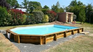 piscine semi enterree bois leroy merlin photo piscine bois semi enterr 233 e leroy merlin