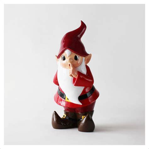 large retro  santa christmas elf figurine novacom