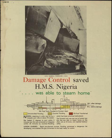 wwii damage control royal australian navy