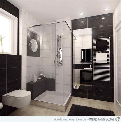 small bathroom designs ideas 20 sleek ideas for modern black and white bathrooms home