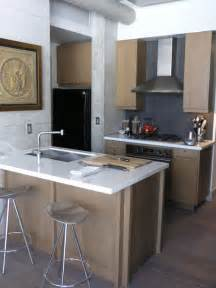 permanent kitchen islands small kitchen island houzz