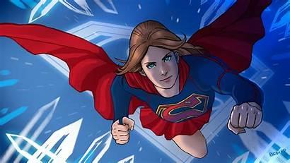 Supergirl Wallpapers Production Artstation Fan Rumored Reyes