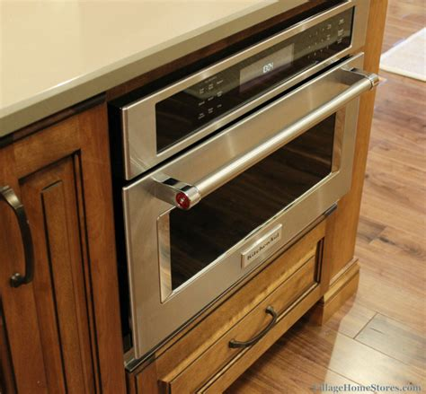 built in kitchen islands kitchenaid built in convection microwave installed into