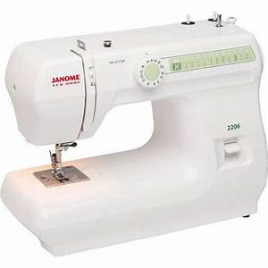Janome New Home 2206 Sewing Machine Instruction Manual