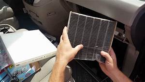 How To Replace Cabin Air Filter On A 2011