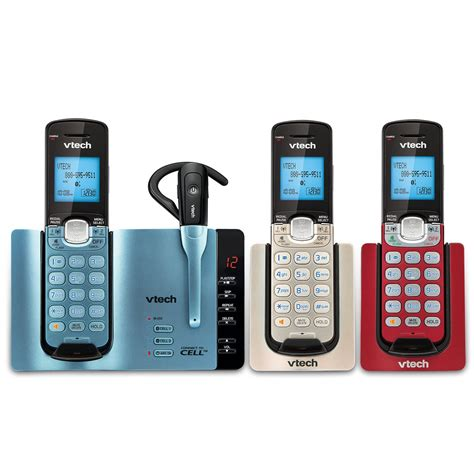 connect two phones 3 handset connect to cell phone system with cordless