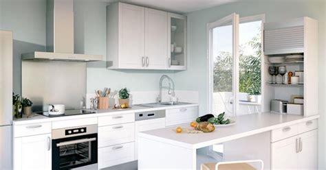 modele cuisine lapeyre la cuisine blanche lumio de lapeyre