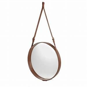 Spiegel Rund 70 Cm : gubi adnet spiegel rund 70 cm braun nunido ~ Whattoseeinmadrid.com Haus und Dekorationen