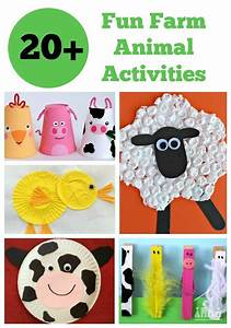 Farm Animals Clipart Art And Craft Pencil And In Color