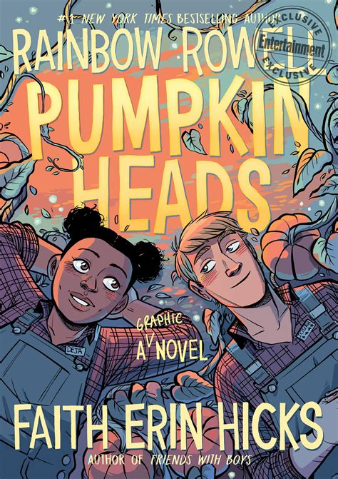 Pumpkinheads: Rainbow Rowell unveils cover for graphic ...