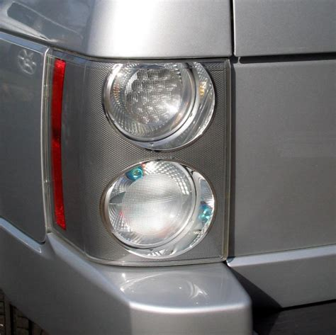 pair  supercharged rear lights lamps range rover