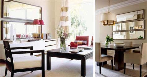 espejo comedor espejos para comedor beneficios e ideas bonitas decorar