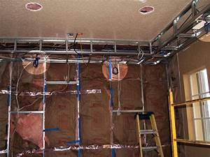 Install Theater Room Wiring