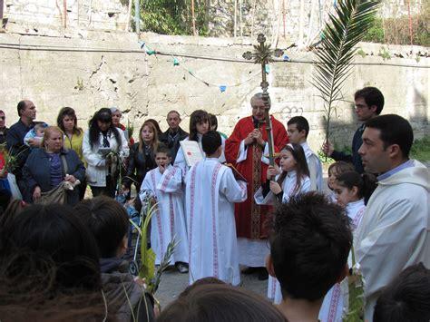 ingresso di gesù a gerusalemme domenica delle palme parrocchia san giuseppe al lagaccio