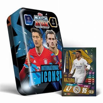 Match Attax Tin Mega Cards Icons Gold
