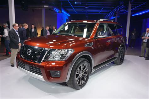 Nissan Unveils 2017 Armada Full-size Suv At Chicago Auto