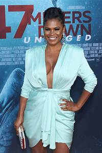 Nia Long Attends 47 Meters Down Uncaged Premiere In Los